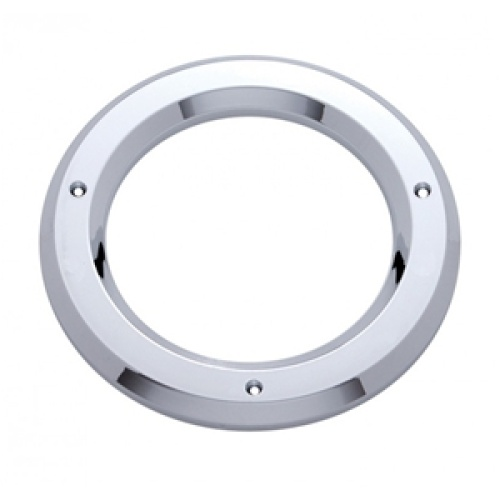 "4"" Round Chrome Plastic Light Bezel For Stop/Turn/Tail Part Number: E2020"