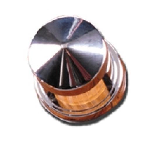 Peterbilt 359 - 379 series chrome dash light cover Part Number: Pt109c
