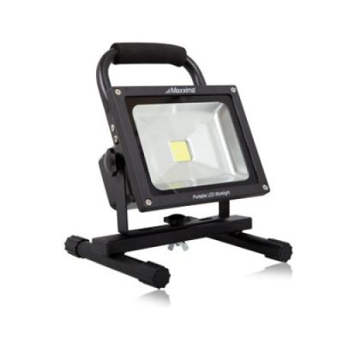 12 Watt Rechargeable Portable Led Work Light For Workshop: 20 Watt 1750 Lumen LED Work Light Part Number: MPWL20